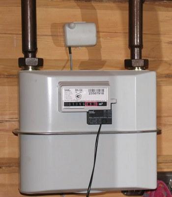 Установка счетчика газа BK-G6
